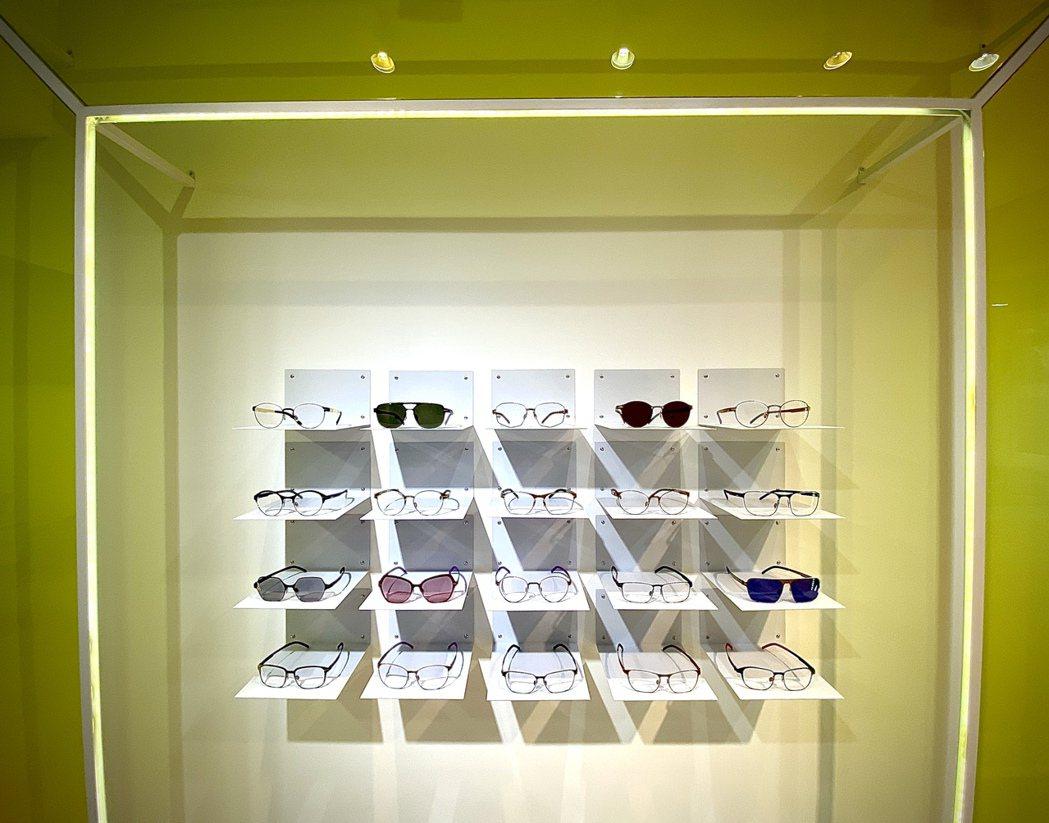 隱身東區的新創眼鏡品牌mAh,為顧客打造獨一無二的客製化眼鏡。圖/業者提供