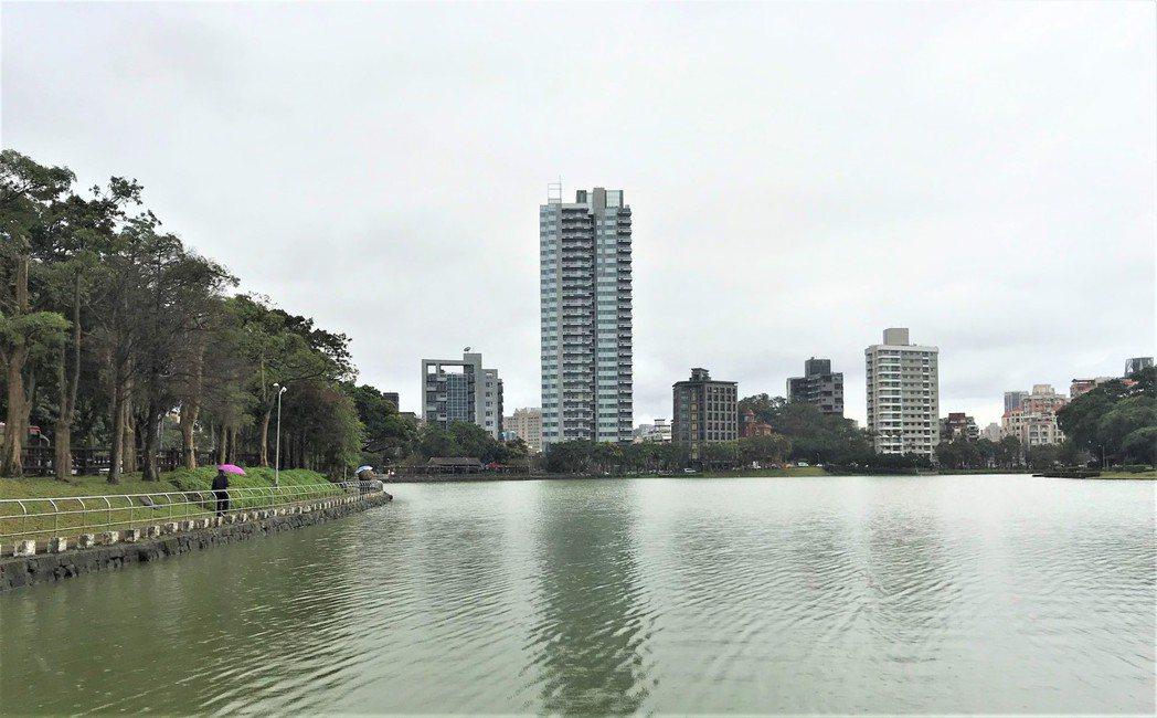 碧湖水岸豪宅。記者游智文/攝影