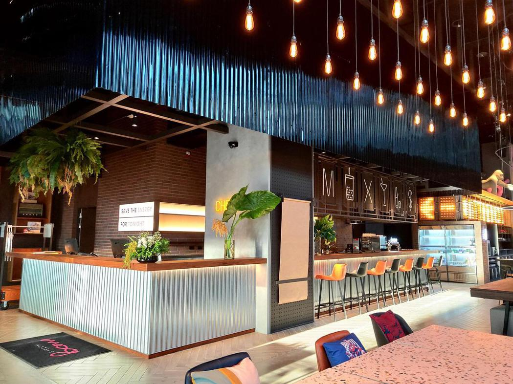 台灣首家萬豪最新Moxy酒店今起試營運。圖/台中豐邑Moxy酒店提供