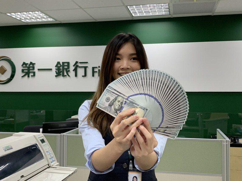 新台幣今天盤中最高來到29.13元兌1美元價位。圖/仝澤蓉攝影
