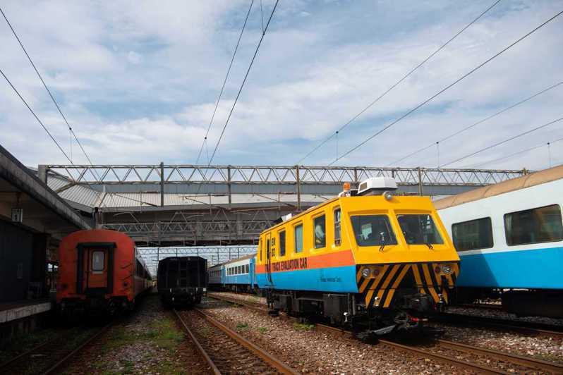 宜蘭線八處曲線改善工程竣工。圖/台鐵局提供