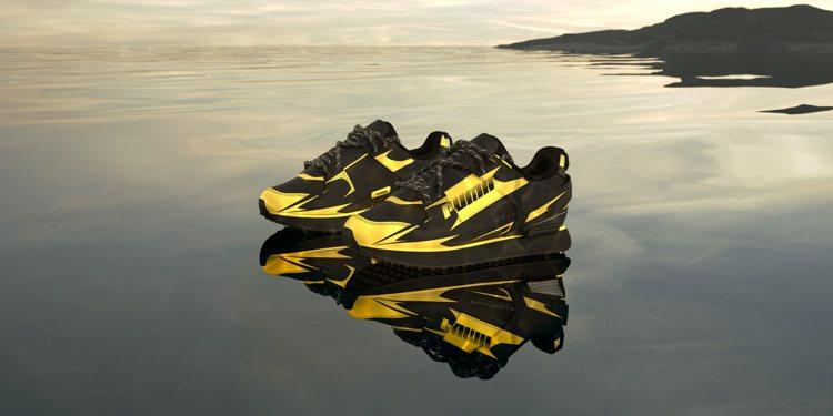 PUMA中央聖馬丁學院時尚設計系聯名系列Mile Rider鞋4,580元。圖/...