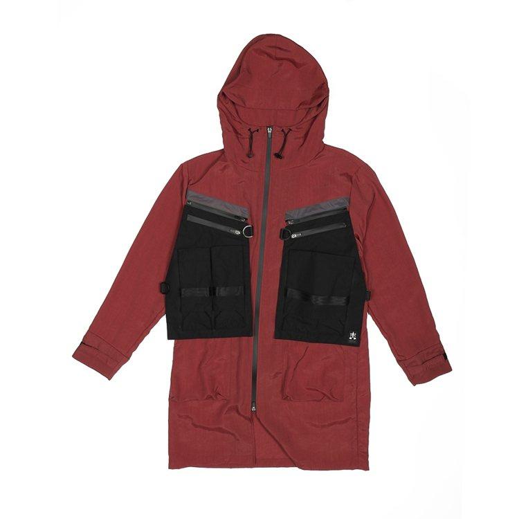 織本主義潮流主系列拆卸口袋風衣14,800元。圖/Weavism提供