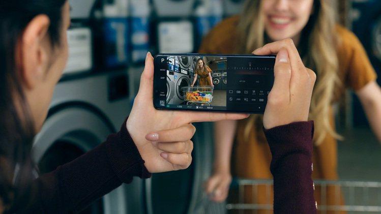 Sony Xperia 5 II擁有即時眼部追蹤對焦功能。圖/Sony Mobi...