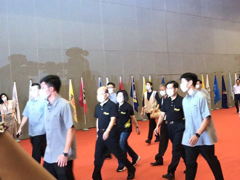 第50屆全國技能競賽賽事首度宜師南港展覽館,今舉行開幕典禮。記者潘乃欣/攝影