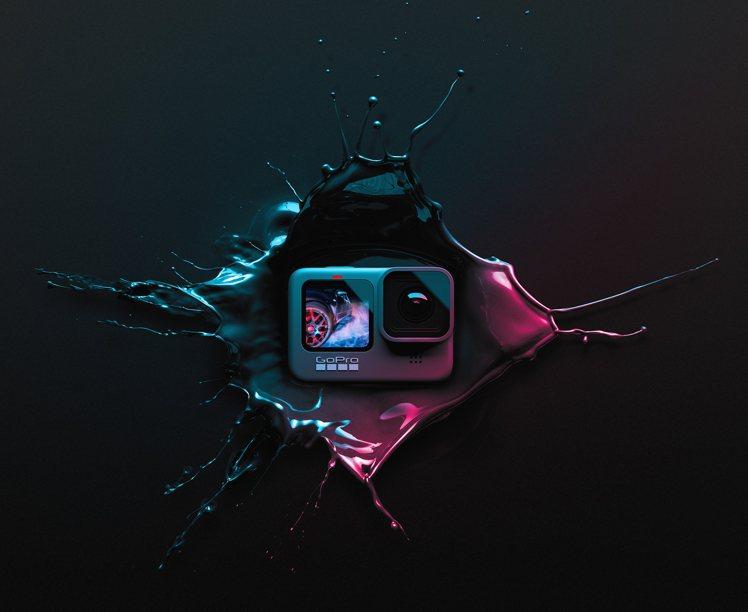 HERO9 Black在台上市,建議售價16,800元圖/GoPro提供