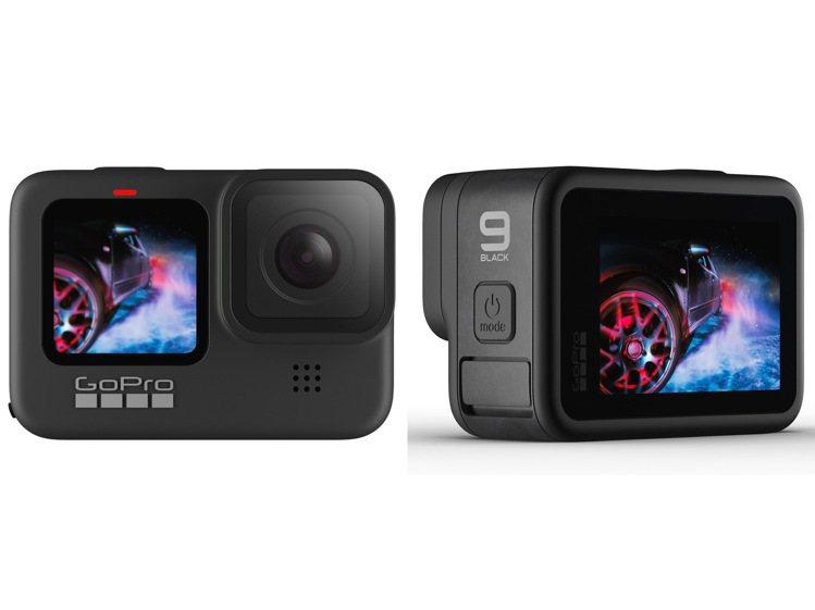 HERO9 Black外型上最大進化,就是擁有全新1.4吋前置彩色螢幕,以及尺寸...