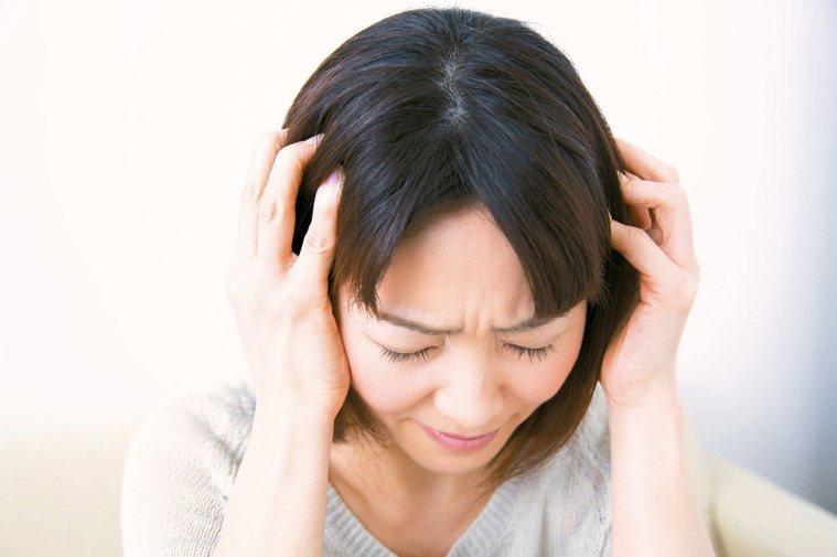 頭痛示意圖/123RF
