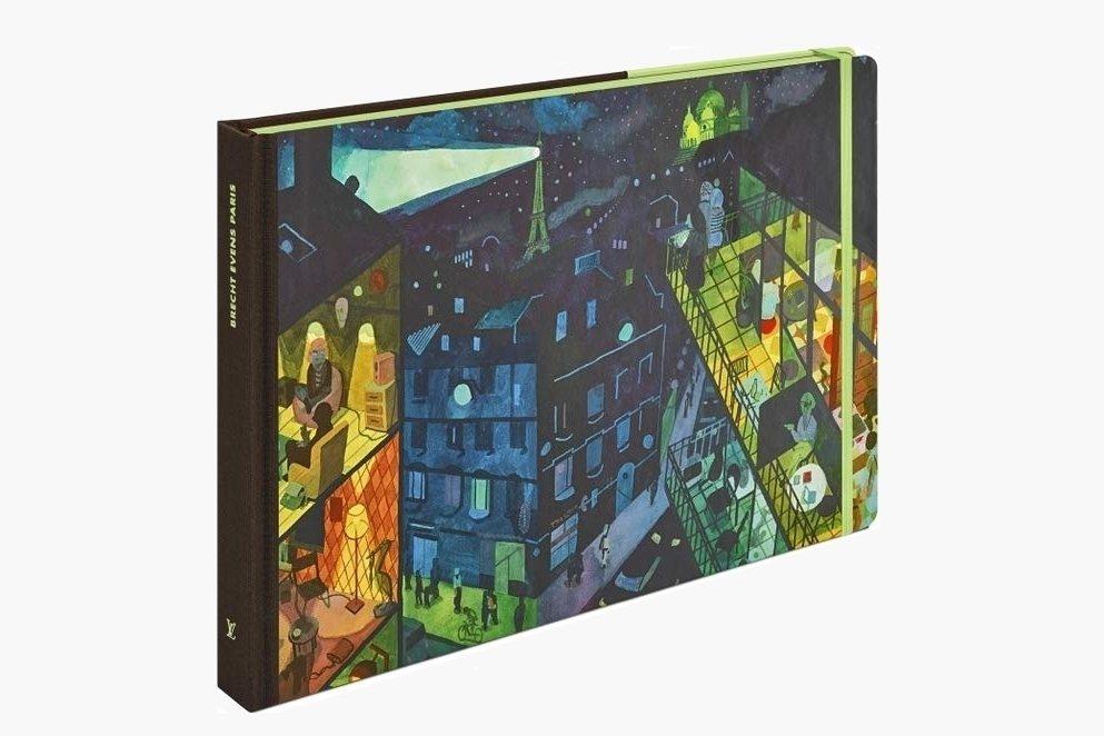 2017年「路易威登」(Louis Vuitton)出版布萊希特.艾文仕繪製《巴黎遊記》。 圖/童里繪本洋行