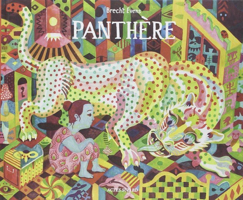 艾文仕於2016年出版了繪本作品《花豹紳士》。 圖/童里繪本洋行