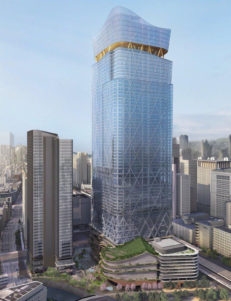三菱集團宣布將打造日本第一高樓「Torch Tower」。圖擷取自三菱地所官網