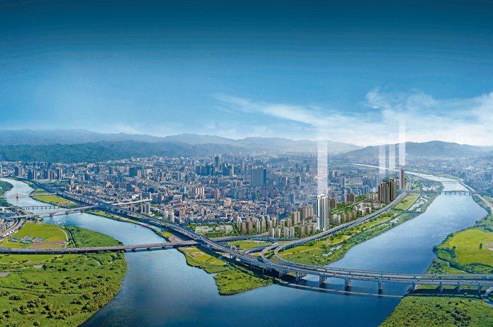 玉帶環腰開窗即見三江大景,讓甲山林帝景1號成為企業主最愛