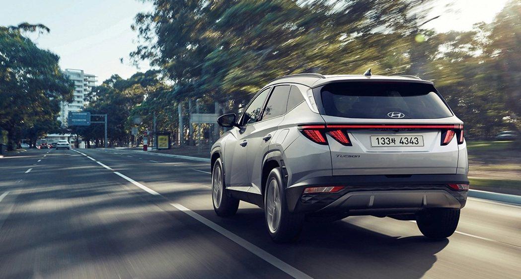 全新Hyundai Tucson Hybrid預計在十月將率先於自家韓國市場販售...