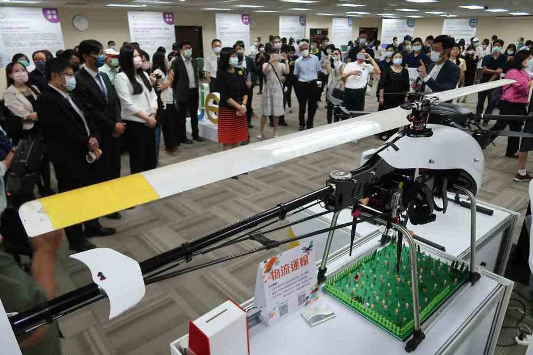 外貿協會於9月17日舉辦2020台灣創新技術博覽會展前記者會,搶先曝光多件創意發...