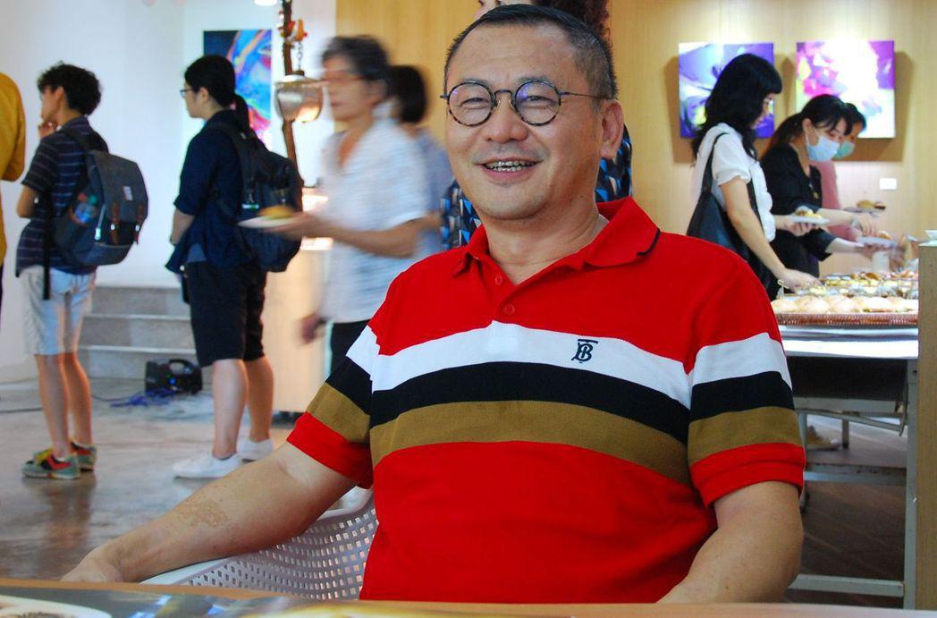 雄崗建設董事長林清吉。 楊鎮州/攝影