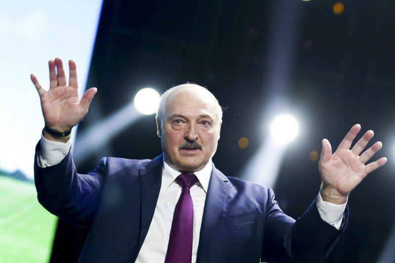 白俄羅斯總統魯卡申柯。 圖/美聯社