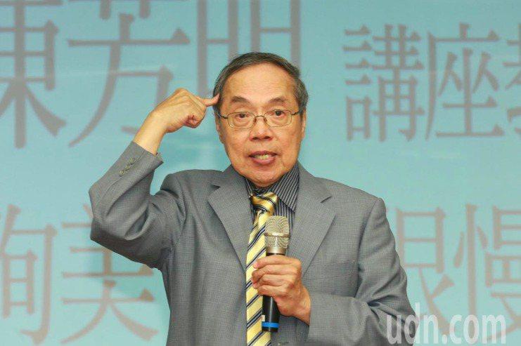 陳芳明。聯合報資料照片