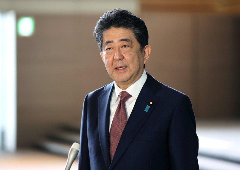 日本前首相安倍晉三。 歐新社