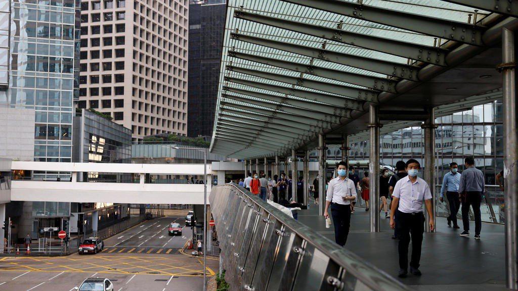 香港金融區。 圖/路透