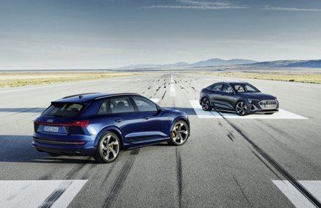 配置3具電動馬達 Audi e-tron S旗艦性能休旅車將於秋季上市!