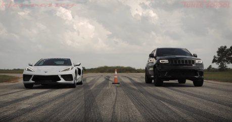 影/1,013匹馬力Hennessey Jeep Trackhawk 追得上C8 Corvette?