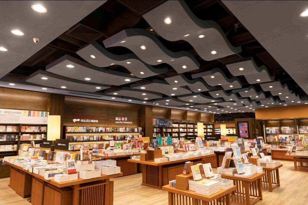 誠品在香港深耕8年,第四家分店「誠品書店奧運店」進駐香港大角咀,圖/誠品提供