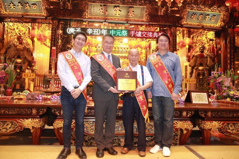祝福林右昌入閣或選台北市長,賴清德舅:請大家多支持。記者游明煌/翻攝
