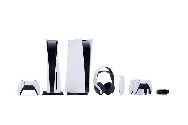 搭載Ultra HD Blu-ray光碟機的PS5將從9月18日中午起開放預購,豐富的周邊配件將與主機同步發售。圖/SIET提供