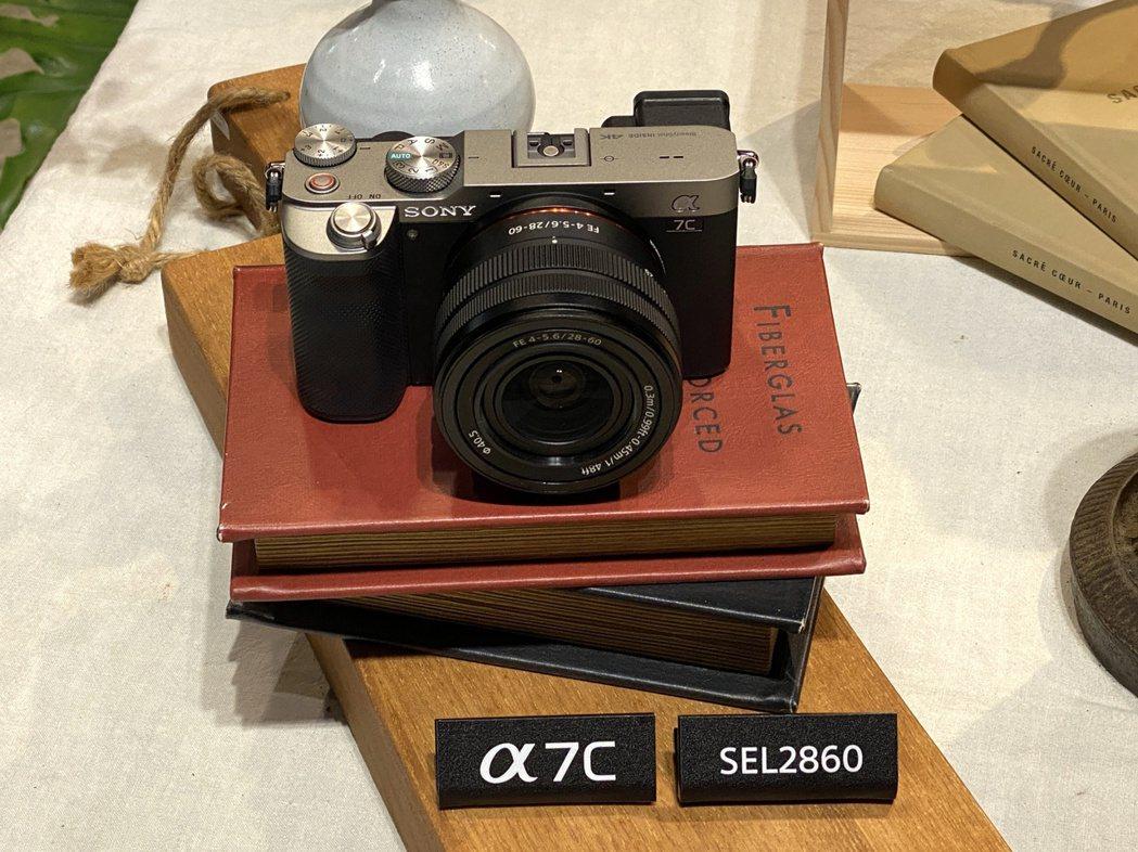 Sony α7C全片幅可交換鏡頭式數位相機,單機身建議售價50,980元,搭配全...