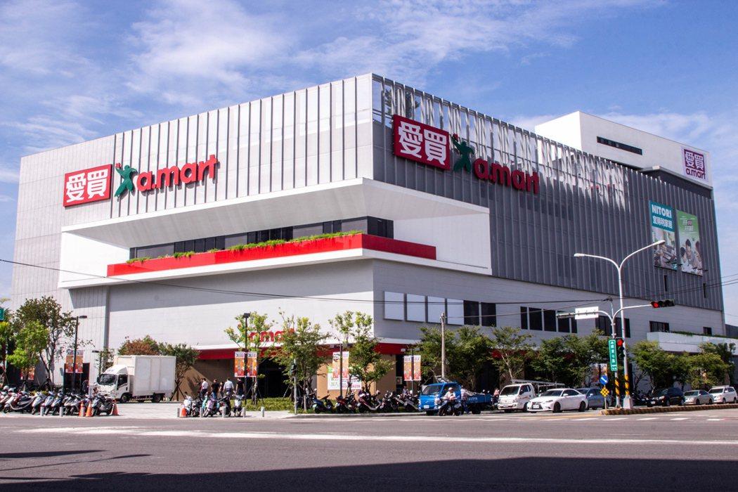 愛買量販全新店型的台中水湳店將於9月23日上午10點40分正式開幕。圖/愛買提供