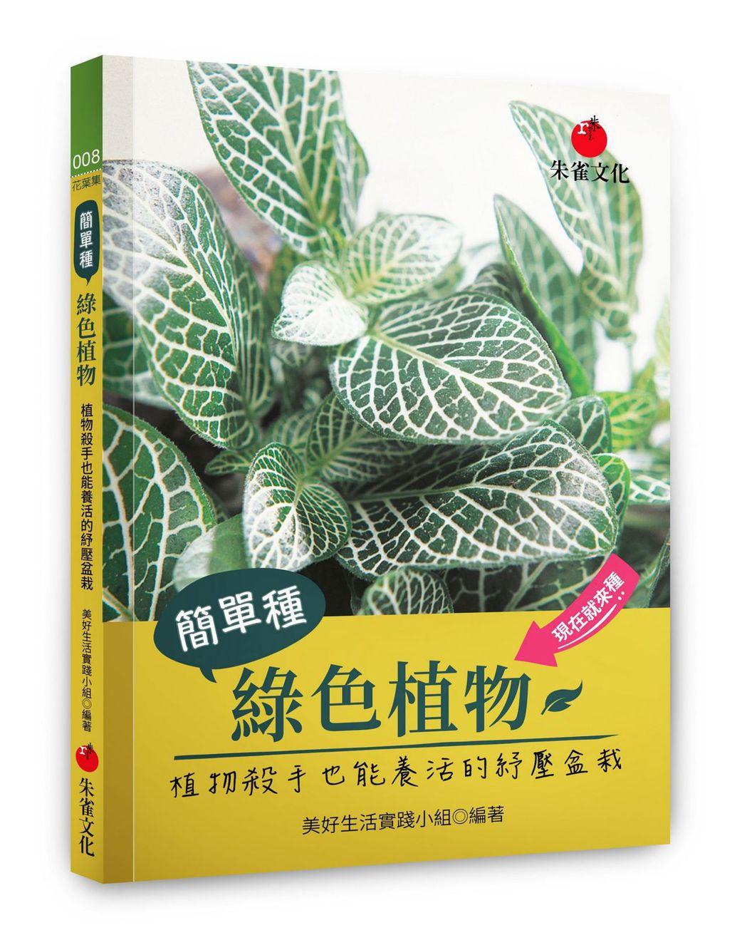 書名/《簡單種綠色植物》、作者/美好生活實踐小組、圖/朱雀文化提供