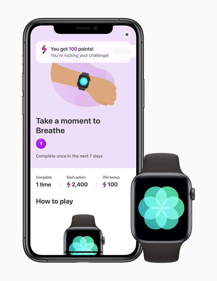 搭配使用Apple Watch,LumiHealth可提供促進健康的整體途徑。圖...