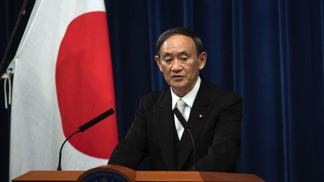 日本新首相菅義偉。 (圖/美聯社)