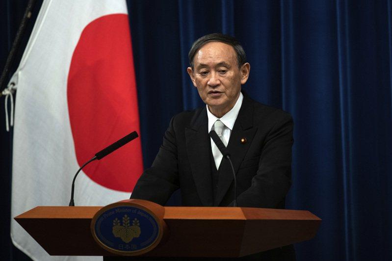 日本新首相菅義偉。圖/美聯社