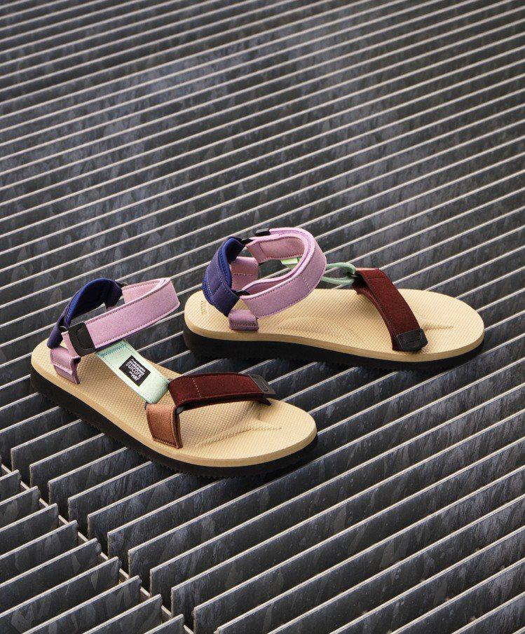 SUICOKE和HAY聯名涼鞋3,780元。圖/FRUITION提供