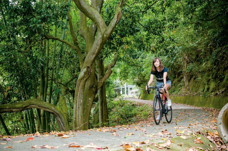 寶山鄉保有許多自然景觀,生態公園環境清幽,適合散步、騎車。圖/新竹縣政府交通旅遊處提供