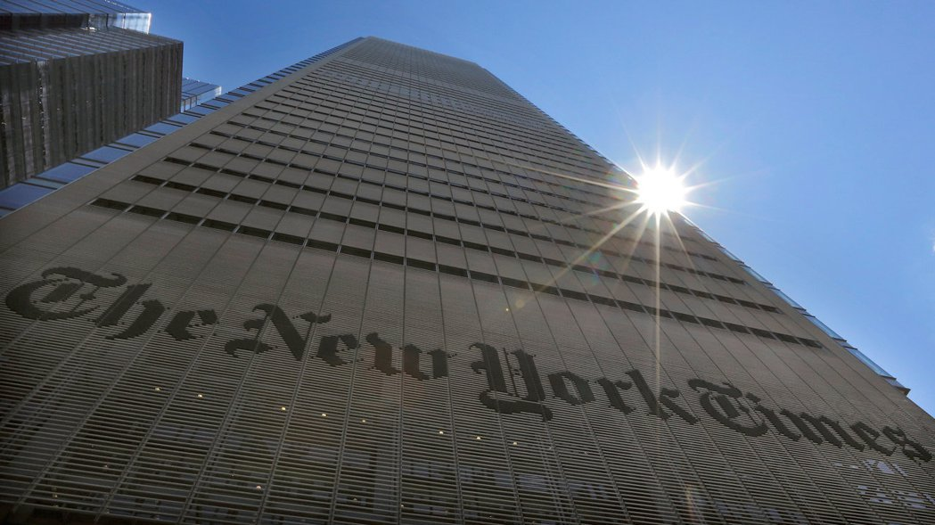美國報紙媒體《紐約時報》數位版訂閱價格調漲13%,從下月27日起生效,這是紐時自...