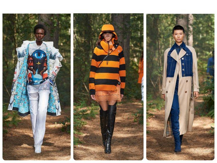 BURBERRY發表以表演結合走秀的2021春夏男女裝系列