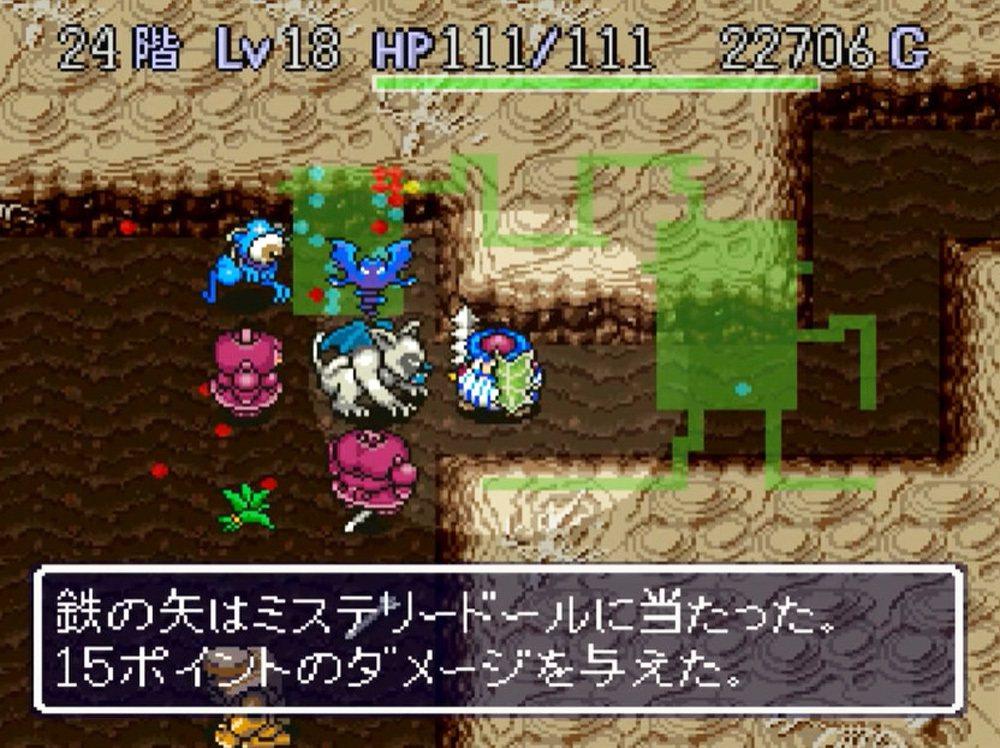 一旦進入迷宮就必須想辦法存活到最後,離開迷宮時經驗值和金錢都會重新計算。被敵人包...
