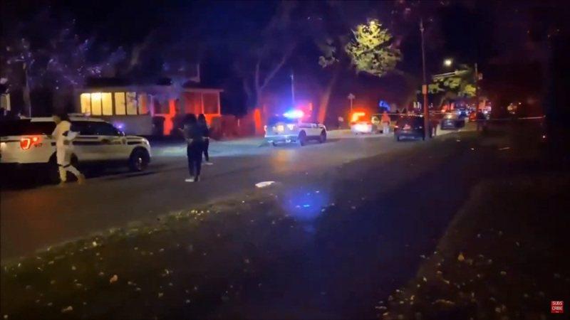 美國紐約州羅徹斯特市(Rochester)當地時間19日凌晨發生大規模槍擊案,傳出至少16人中槍,其中2人當場死亡。圖/取自YouTube影片截圖