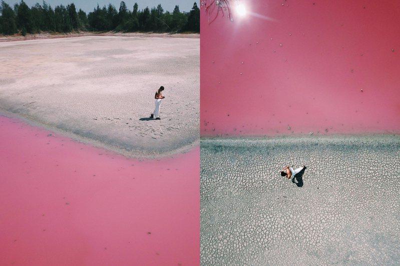 日前人氣網紅Yei、時尚部落客莫莉、知名作家Peter Su等好友陸續在社群分享粉紅池塘美照,張張質感堪比攝影大片,為這處打卡景點再掀新話題。圖/IG@leaf_ayei授權