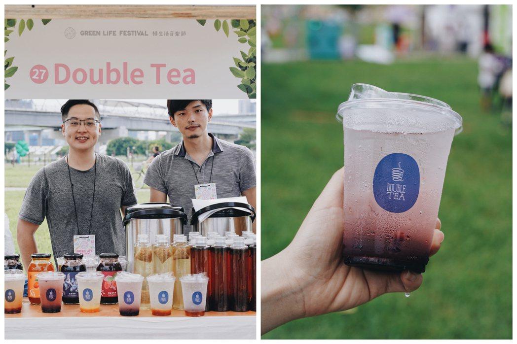 有別於市面上水果氣泡飲常使用濃縮糖漿,Double Tea選用苗栗小農產製的天然...