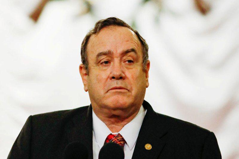 瓜地馬拉總統吉昂馬岱確診新冠肺炎。 路透社