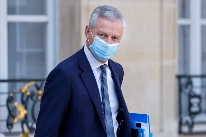 法國2019冠狀病毒疾病(COVID-19,新冠肺炎)病例再度激增,財政部長勒麥爾今天宣布他已確診,但自稱並無症狀,目前在家遠距工作。 法新社