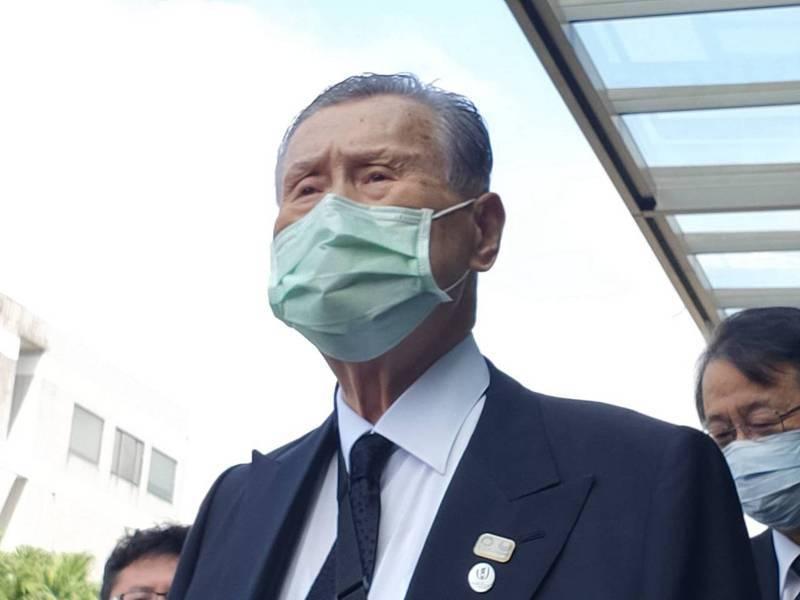 日本前首相森喜朗。記者徐偉真/攝影