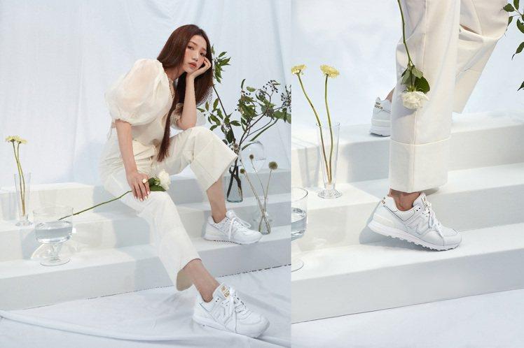 New Balance因應換季的穿搭需求,推出全新配色潮鞋,大打黑、白和灰等無色...