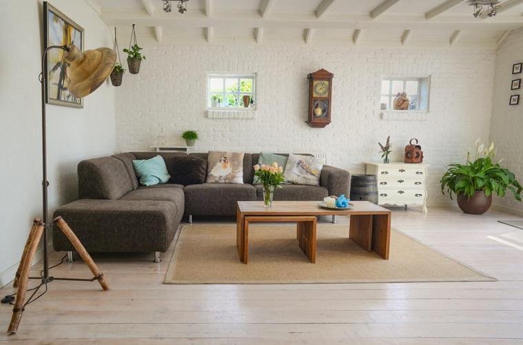 客廳的地毯,是過敏原。圖/摘自Pelexs