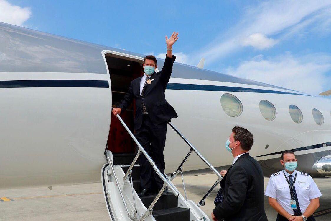 美國務院次卿搭機返美 外交部:訪台成果豐碩