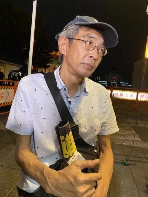 銅鑼灣書店老闆林榮基。聯合報系資料照