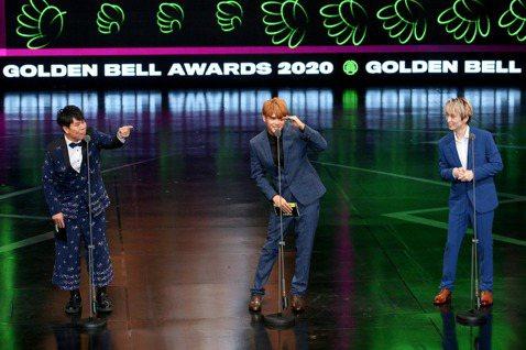 第55屆廣播金鐘獎頒獎典禮在國父紀念館舉行,邵大倫、陳零九、邱鋒澤擔任頒獎人。